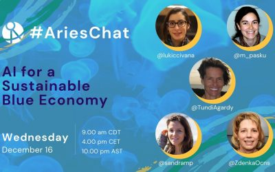 #AriesChat: Artificial Intelligence for a sustainable blue economy
