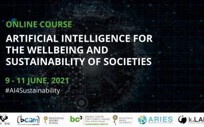 Registration for the online course on artificial intelligence for sustainability is now open!